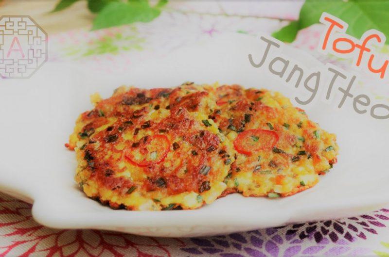 Korean Spicy Tofu Fritters